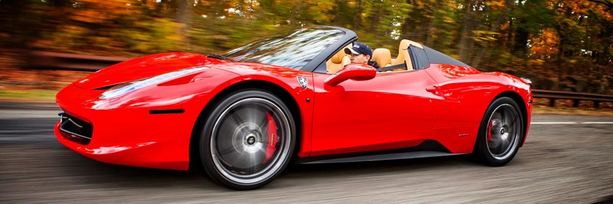 Ferrari 458 Italia Spider Rental Gotham Dream Cars