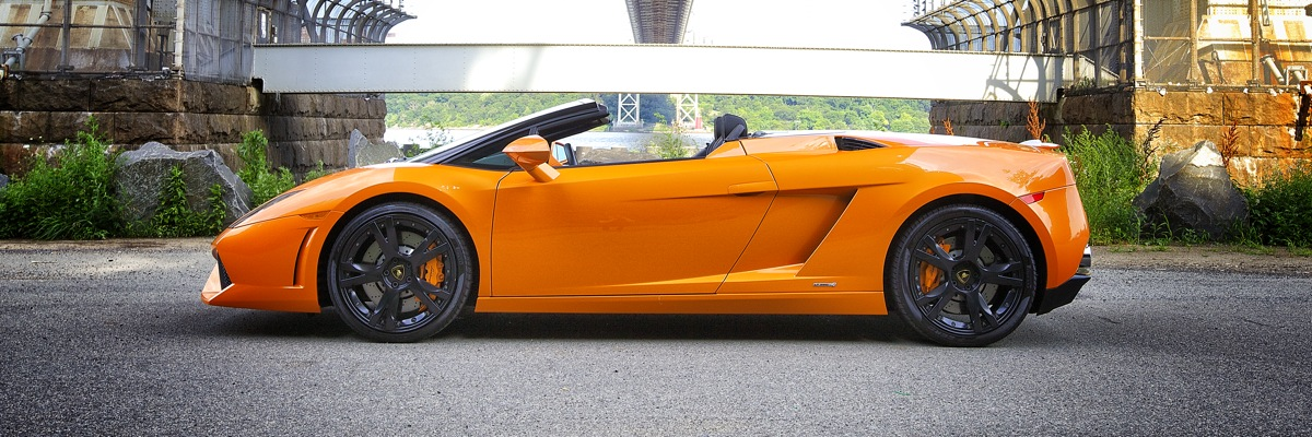 Lamborghini LP5604 Spyder Rental New York Rent a Lamborghini